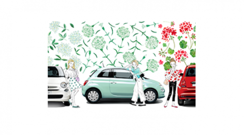 限定車「Fiat 500 Super Pop Fiore」発売