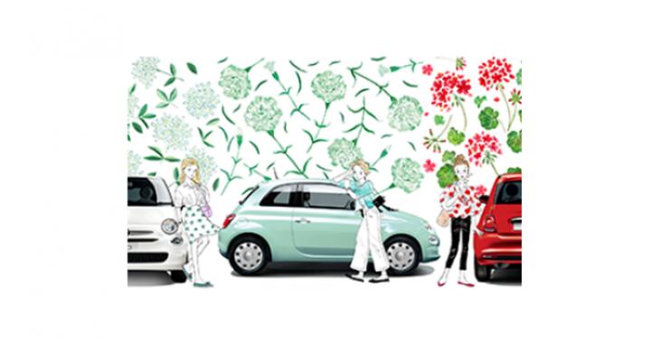 限定車「Fiat 500 Super Pop Fiore」発売