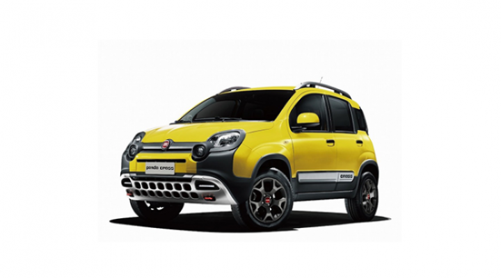 限定車「Fiat Panda Cross 4×4」発売