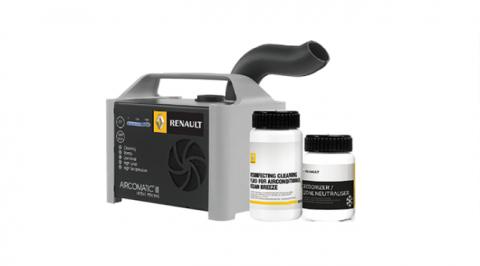 「Renault AIRCOMTIC Ⅲ」で車内を洗浄、除菌。キャンペーン実施中!!30%off